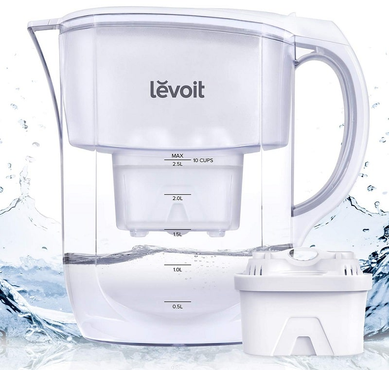 Levoit LV119WP alkaline water filter pitcher