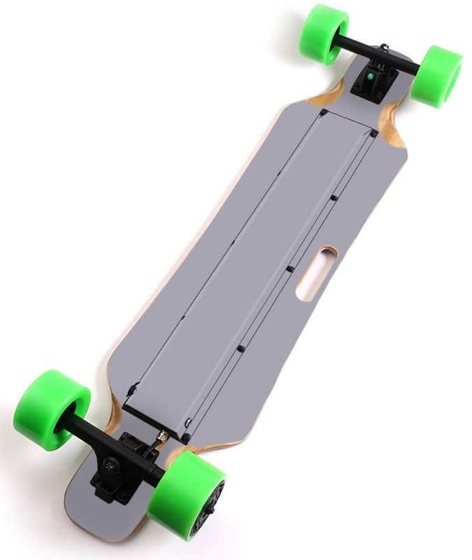 MightySkins electric skateboard