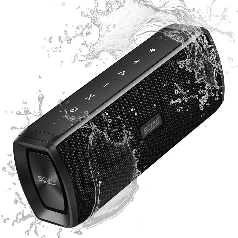Scijoy Portable Bluetooth Speaker