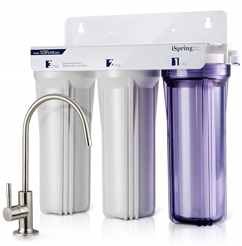 iSpring WCC31 Water Filters Blue