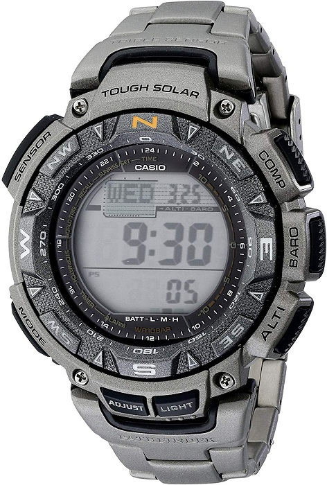Casio Pro Trek PAG240T-7 Compass Watch