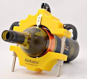 Deep Black Kinkajou Bottle Cutter
