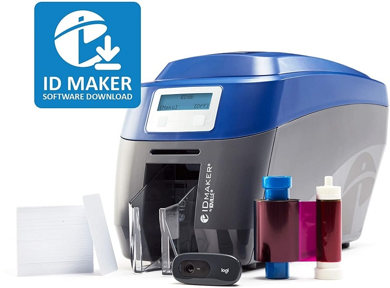 ID Maker Edge Professional ID Card Printer