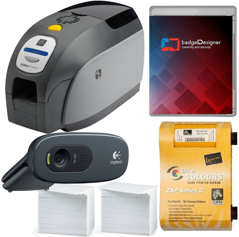 Zebra's ZXP Series 3 Card Printer