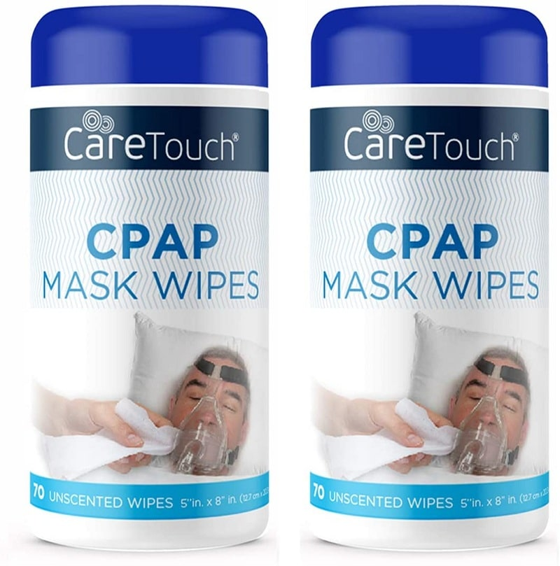 Care Touch CPAP Mask Cleaning Wipe Cleaner