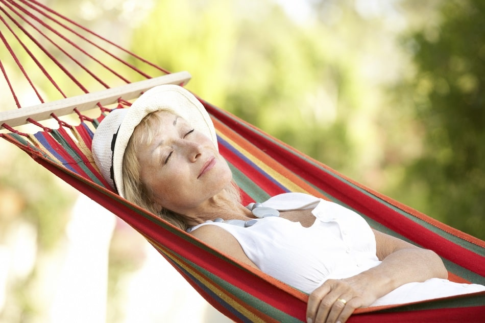 Remedy for Lack of Sleep with hammock