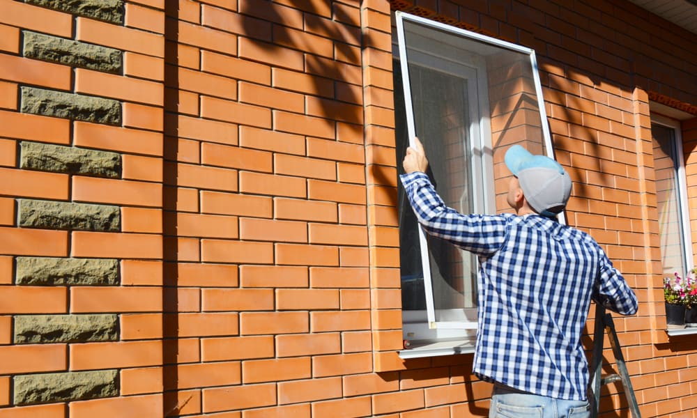 Replacing your Exterior Screen