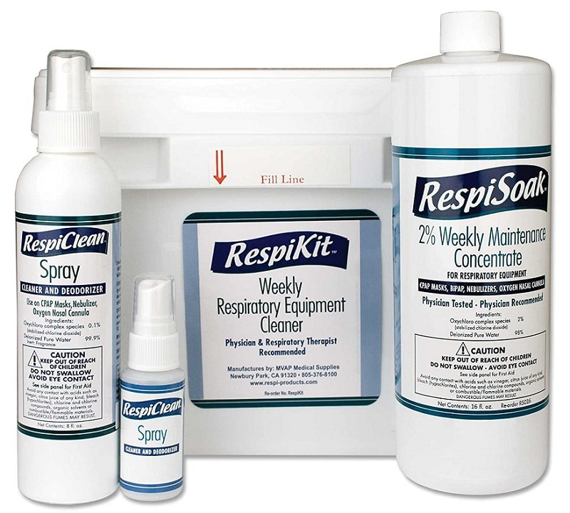 Respiratory & CPAP Equipment Cleaning Kit