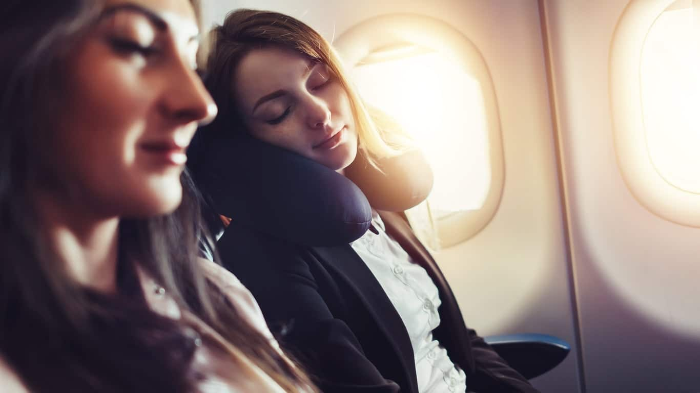 Stay Relaxed during flight