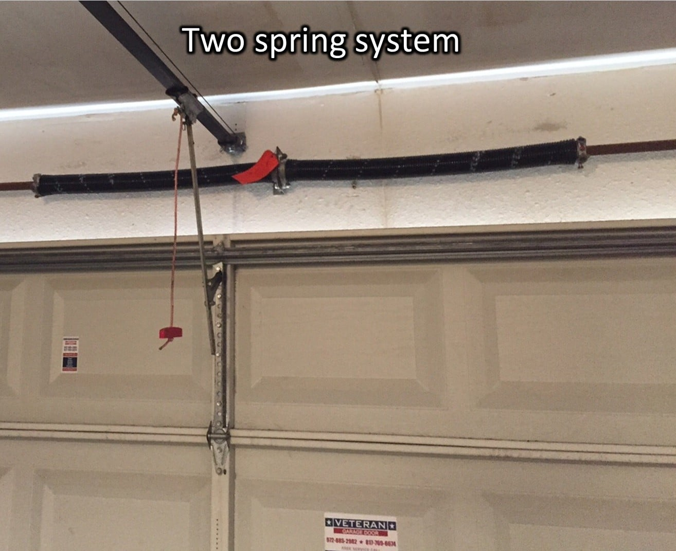 Two spring system