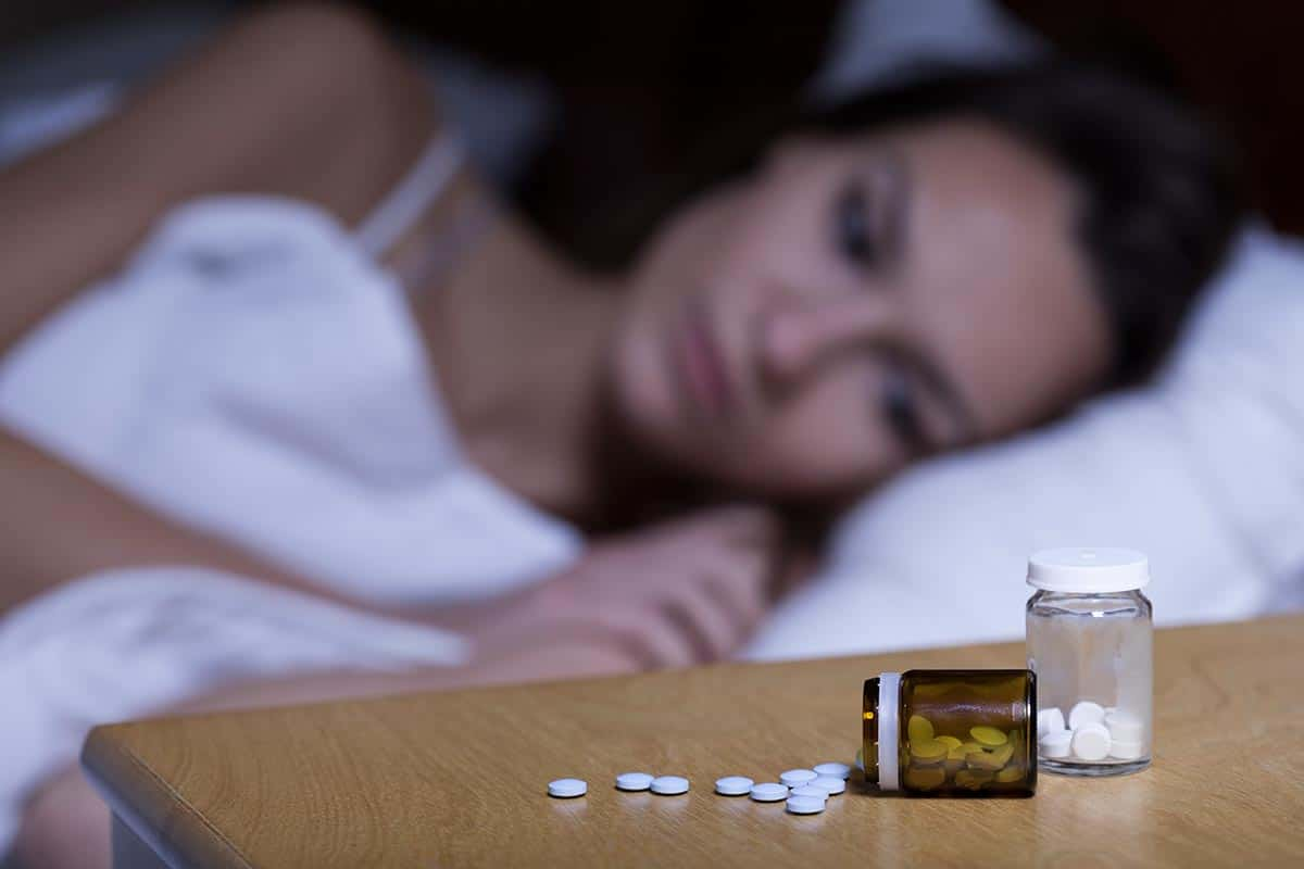 Medications before sleep