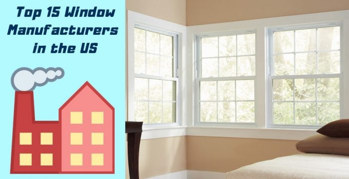 Window Manufacturers us