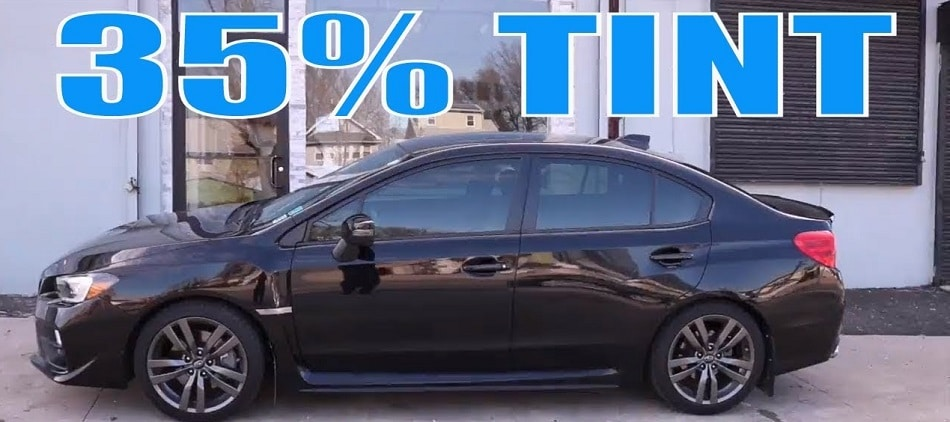 thirty five Percent Factory Window Tint