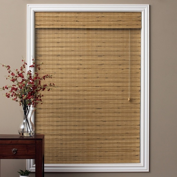 Arlo Blinds Cordless Tuscan Bamboo Roman Blinds