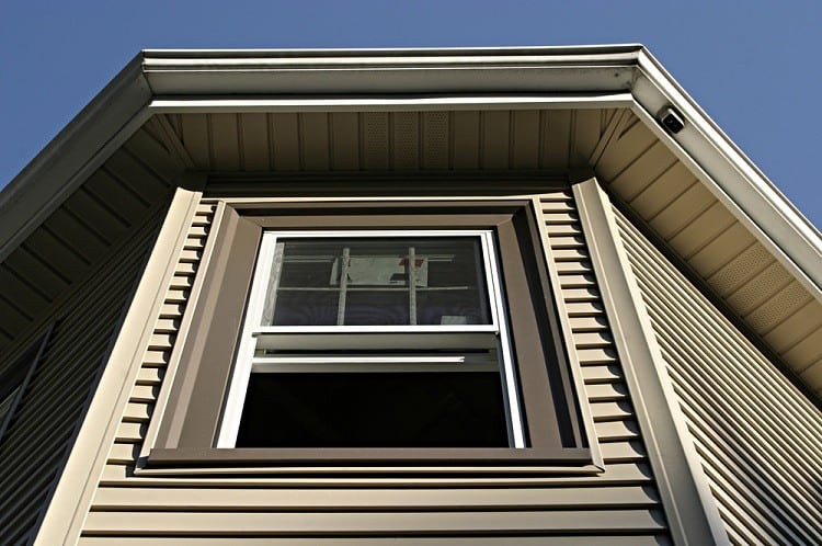 Design Continuation Exterior window Trim