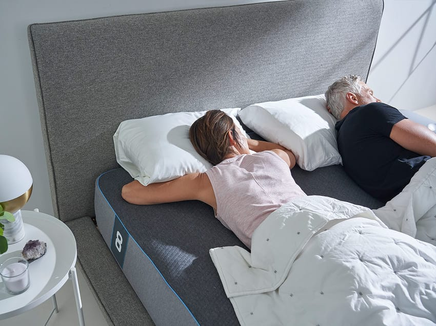 Eight Sleep Pod Mattress Sleeping Postures