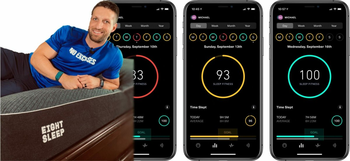 Eight Sleep Pod mattress apps