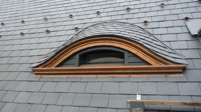 Eyebrow Dormers Windows