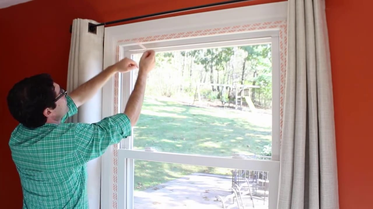 Occasional refreshing window trim