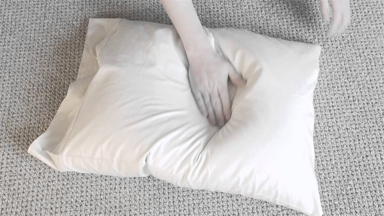 Rustling noise with Buckwheat Pillow