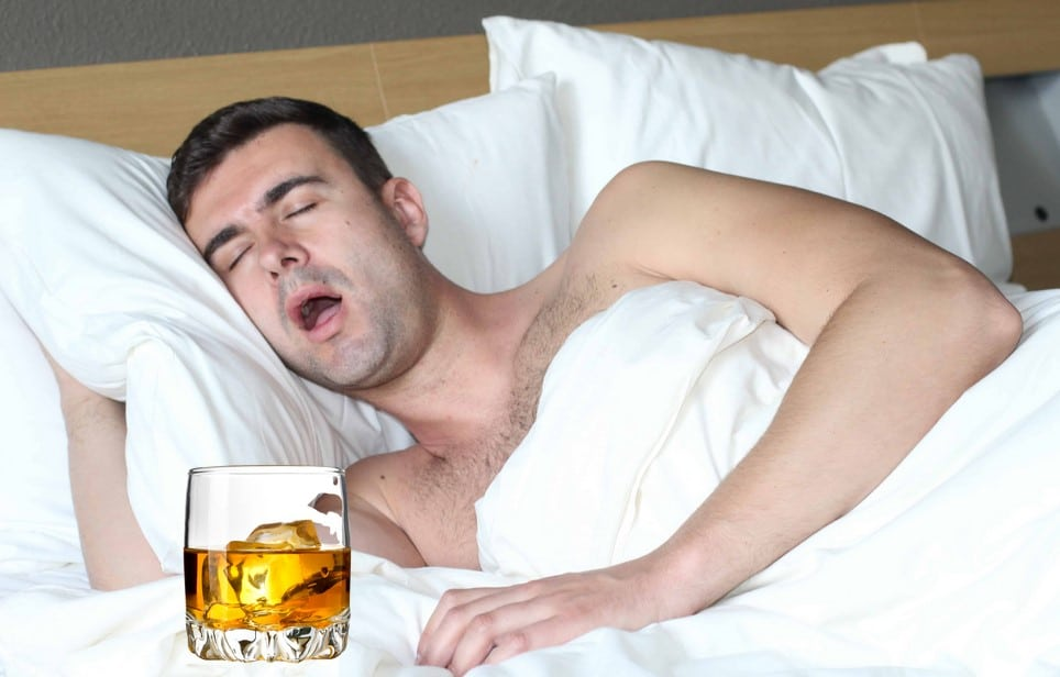 Sleep Apnea After Drinking