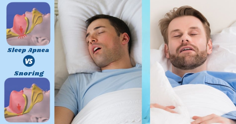 Sleep Apnea VS Snoring