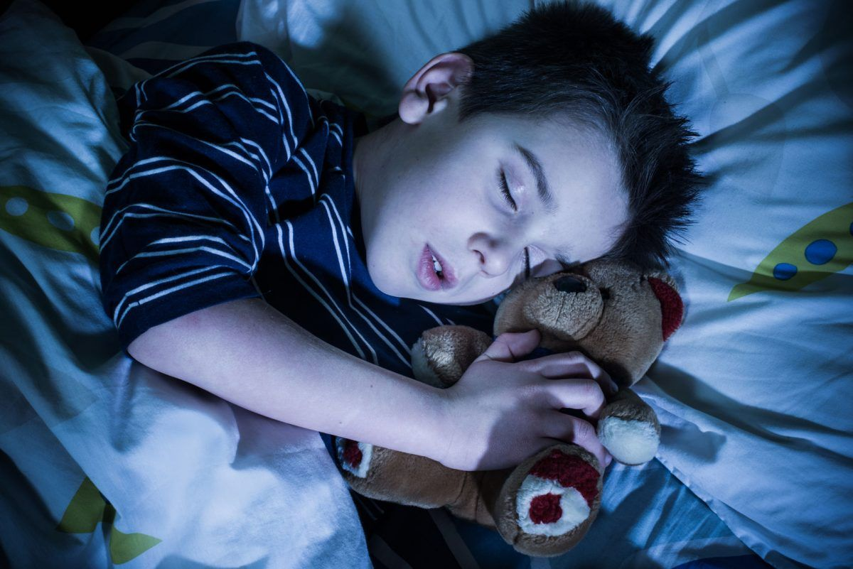 Sleeptalking in children and teenagers