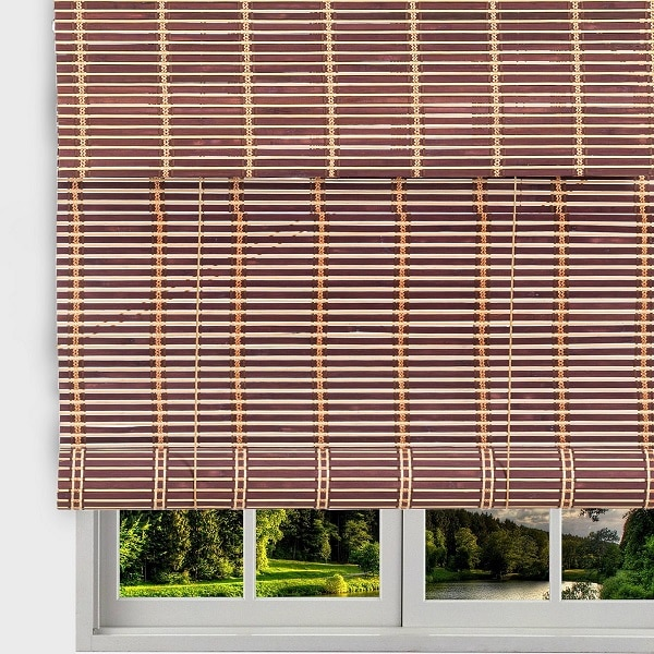 Thy Trading Bamboo Roll Up Window Blind