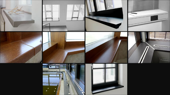 Types of a Window Sill