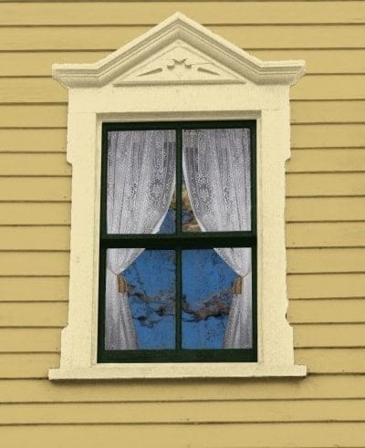 flat-topped windows