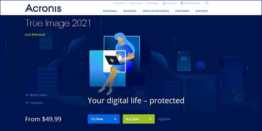 Acronis cloning software, free download