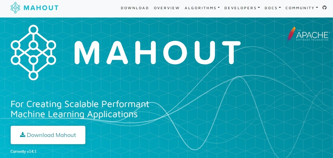 Apache Mahout Home Page