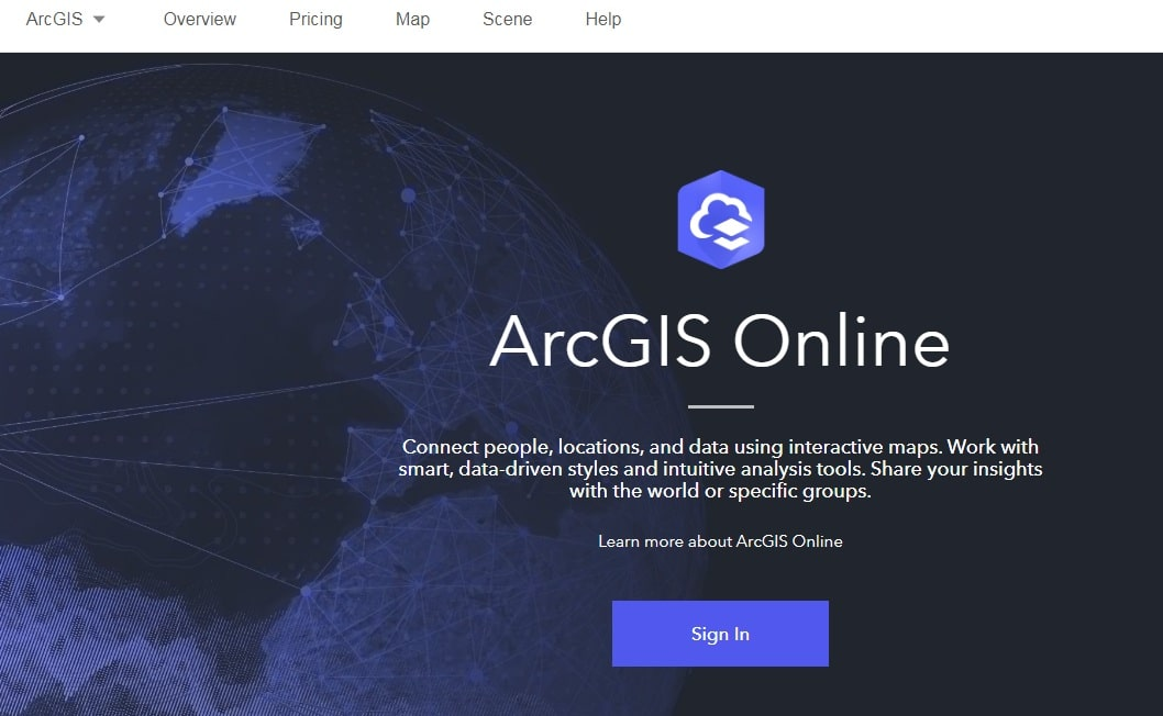 ArcGIS Home Page