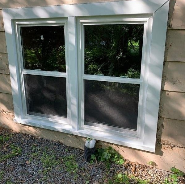 Double-Hung Basement Windows
