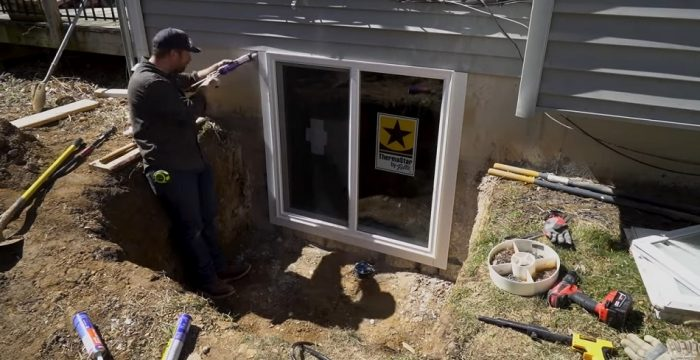 Egress Window Cost and Installation