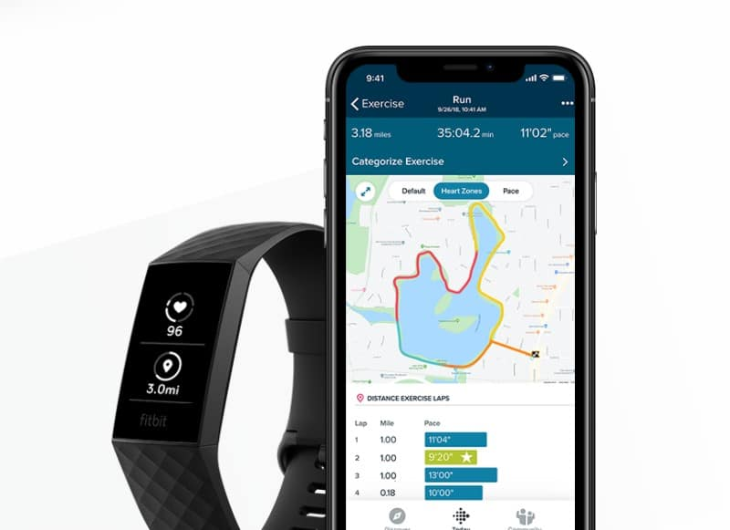 Fitbit Charge 3 apps