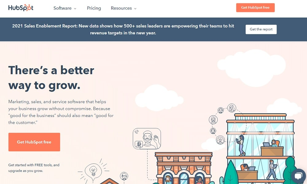 HUBSPOT - Learn and grow with award