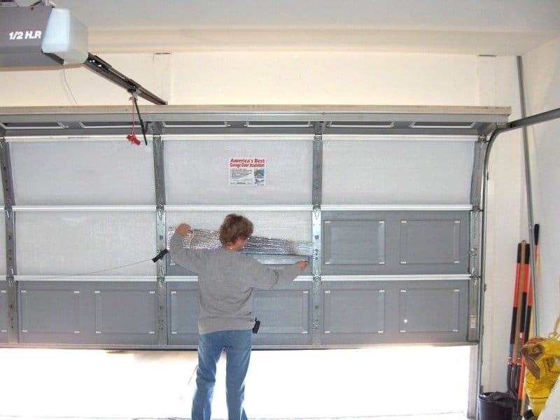 Insulation garagedoor