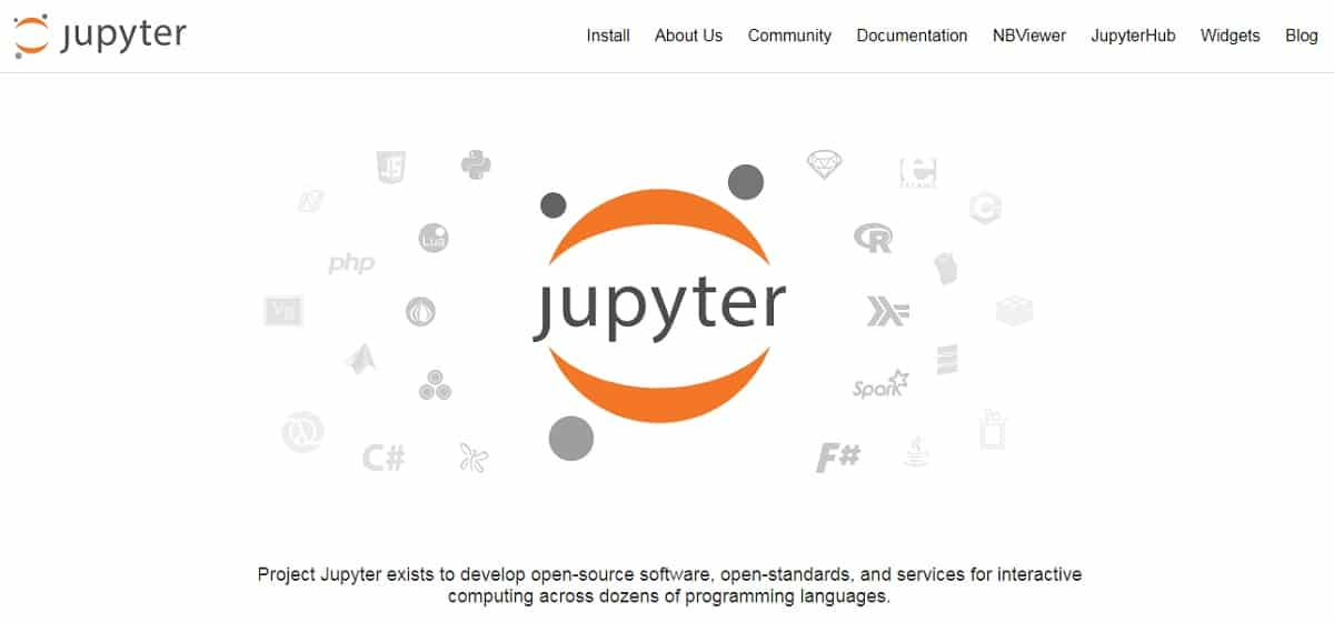 Jupyter Notebook Home Page