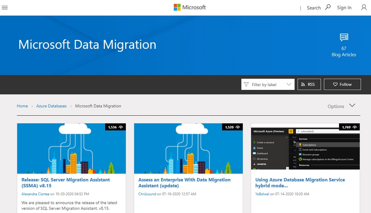 Microsoft Data Migration Assistant