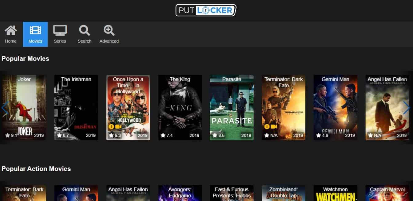 New Putlocker Platform
