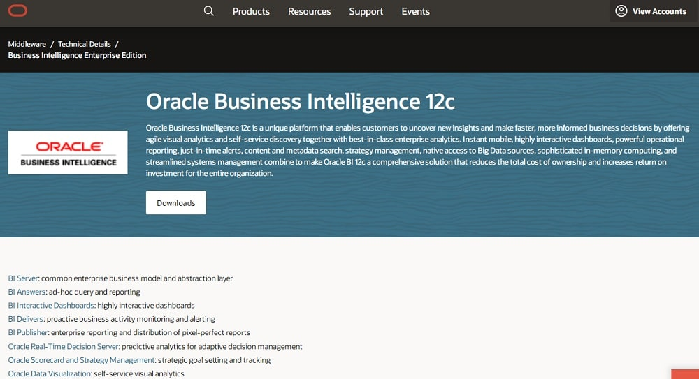 OBIEE - Oracle Business Intelligence