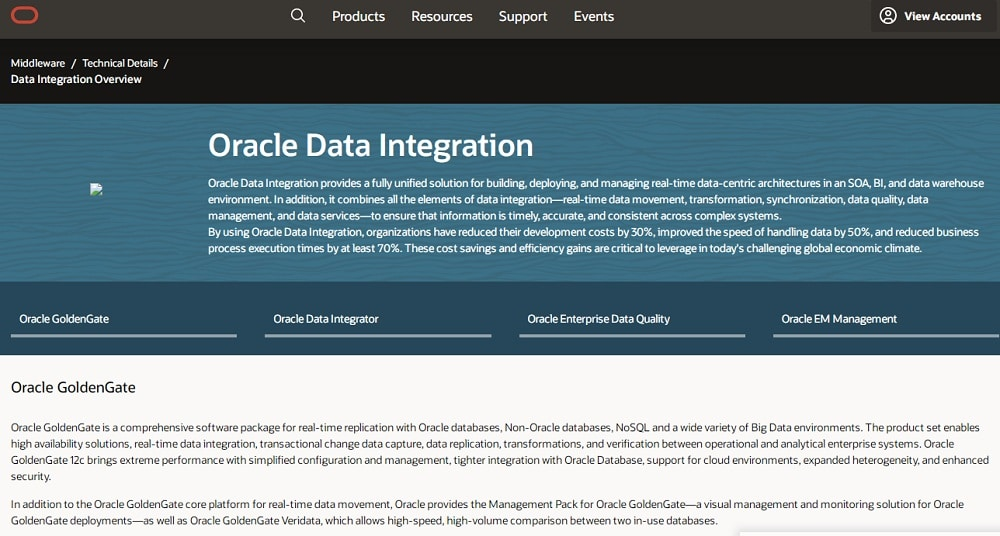 Oracle - Oracle Data Integration