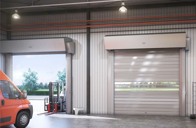 Roll-Up Commercial Garage Doors