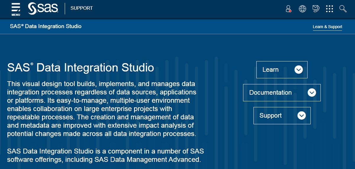 SAS – Data Integration Studio