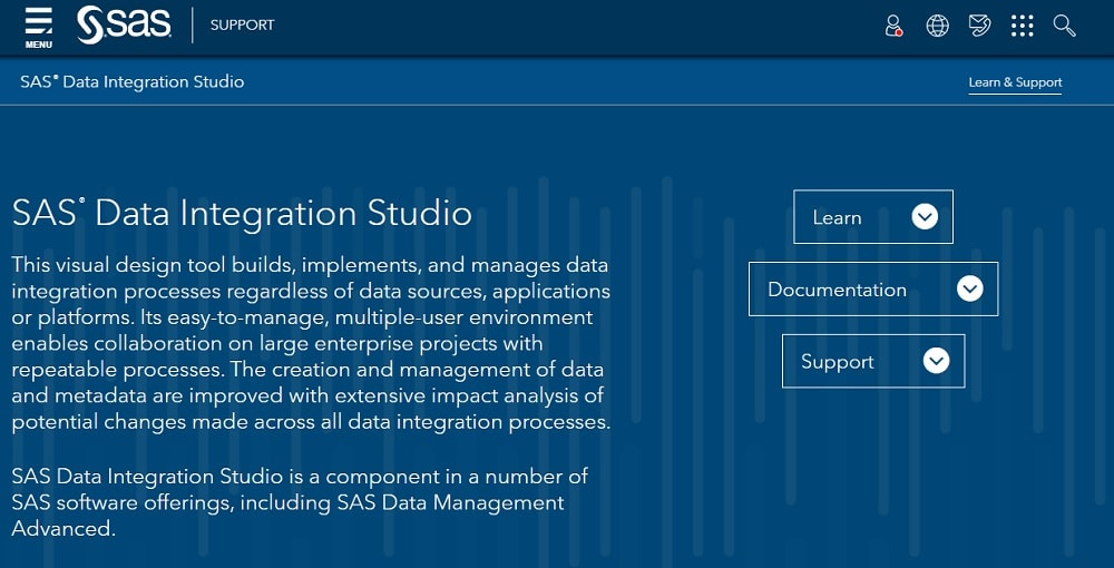 SAS - Data Integration Studio