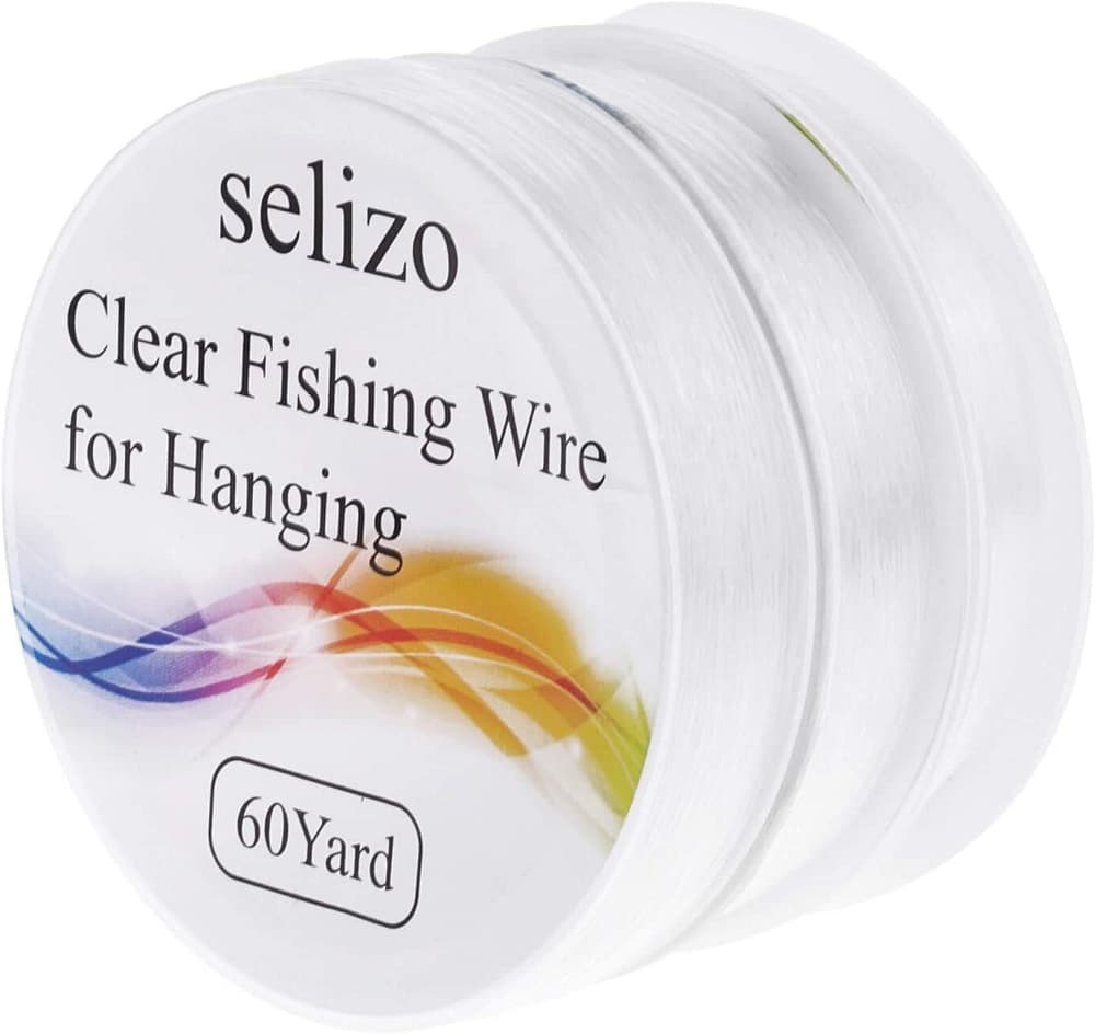 Selizo 3Pc Clear Fishing Line