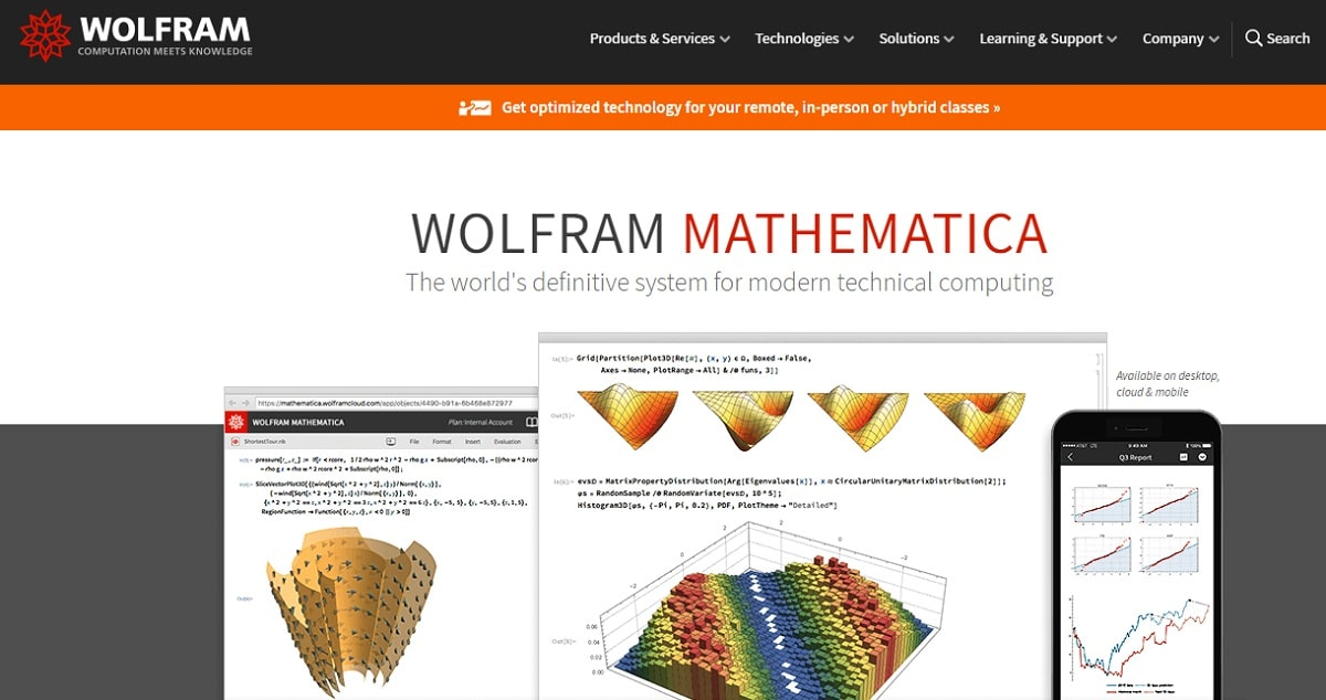 Wolfram Mathematica Home Page