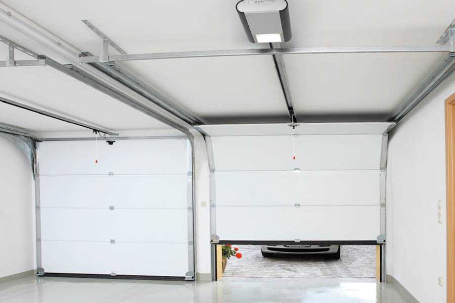 building a garage door