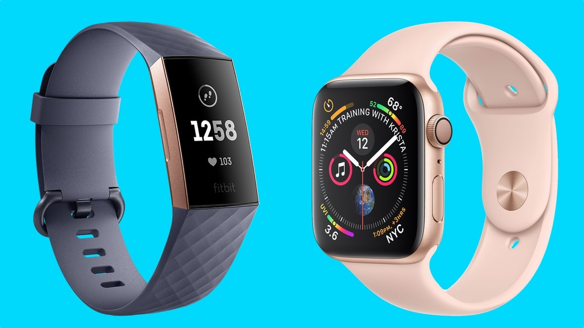 fitbit and apple watch Design